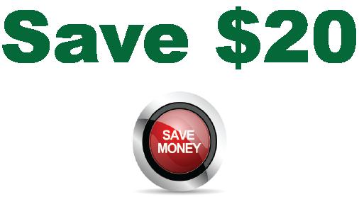 Save $20