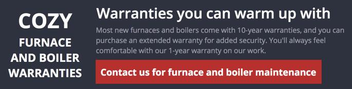 Furnace & Boiler Warranty from R. A. Styron