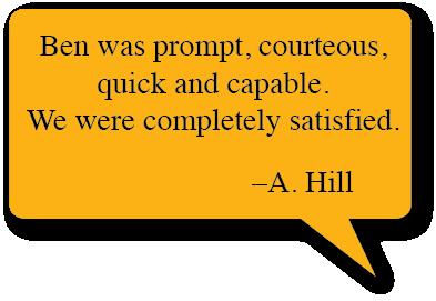 A. Hill Testimonial